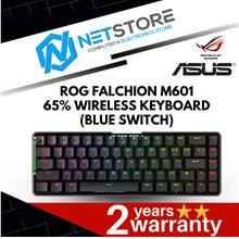 ASUS ROG FALCHION M601 65% WIRELESS MECH GAMING KEYBOARD BLUE SWITCH