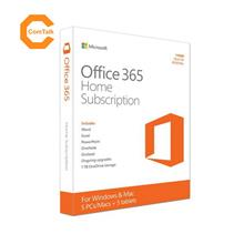 Microsoft Office 365 Home (1 Year Subscription For PC & MAC)