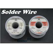 (ORIGINAL) Kester Flux Core Solder Wire 0.4MM SN63PB37