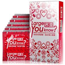 55mm Larger Smooth Condom Big Size Condom For Giant 10pcs (Hot)