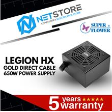 SUPER FLOWER LEGION HX GOLD DIRECT CABLE 650W POWER SUPPLY