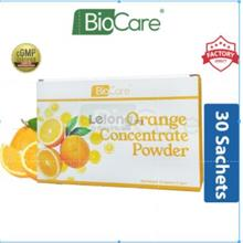 Biocare Orange Concentrate Powder 30's x 2g (Vitamin C)