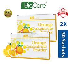 2x Biocare Orange Concentrate Powder 30's x 2g (Vitamin C)