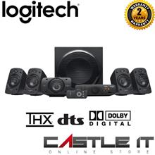 Logitech Z906 (980-000468) 5.1 Surround Sound Speaker 1000 Watts Of Powerful S