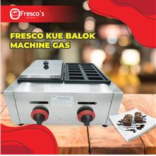 FRESCO KUE BALOK MESIN GAS DOUBLE