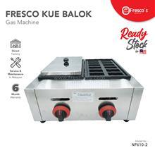 FRESCO KUE BALOK MESIN GAS DOUBLE