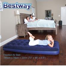 BESTWAY 73inch 185cm Portable Inflatable Single Air Bed Mattress 67000