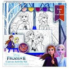 Disney Frozen 2 Paint Set for Kids Elsa Painting Set with 3 Canvases