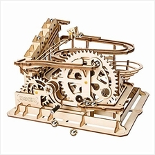 ROBOTIME 3D Wooden Laser-Cut Puzzle DIY Assembly Craft Kits Waterwheel Coaster
