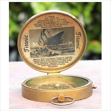 Collectibles Buy Antique Lid Titanic Compass Brass Finish Vintage Nautical Sai