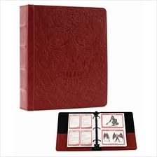Forged Dice Co Curiosities Cache Monster Card & Spellcard Organizer Binder wi