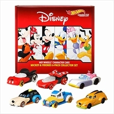 Hot Wheels Disney Bundle Vehicles 6-Pack Toy Vehicles Exclusive Daisy Characte
