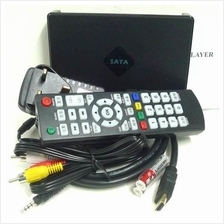M4 Full HD USB 2.5inch HDD Media Player HDMI VGA MKV MP4 RMVB