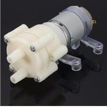 R385 DC 12V Pneumatic Diaphragm Water Pump Motor , 6W Watering System
