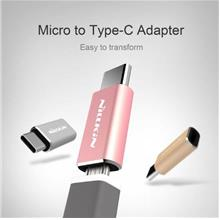 NILLKIN MICRO TO TYPE C USB 2.0 OTG Fast Charging Adapter Convertor