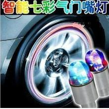 A Pair Tyre Valve Cap Flashing Light Car Motor MTB &Road Bike Decorate
