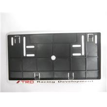 Toyota TRD Racing Development Number Plate Holder