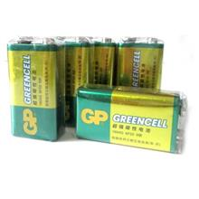 GP 9V Greencell Super^ Heavy Duty SuperCell Battery Batteries 5units