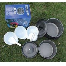 Outdoor Camping Backpacking Cookware Picnic Bowl Pot Pat Set-DS300