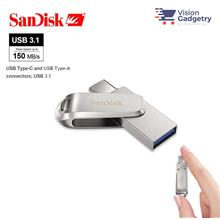 Sandisk Ultra Dual Drive LUXE Type-C OTG USB 3.1 DC4 Flash Drive 150MB