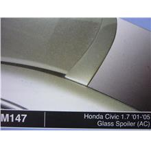 HONDA CIVIC 1.7 2001 2005 GLASS SPOILER AC M147