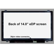 "N140BGE-E43 New 14.0 "" WXGA HD SLIM LED LCD Screen 30 Pin eDP"