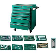SATA 95121P5 140 PCS TOOLS SET WITH 5 DRAWER ROLLER CABINET