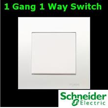 Schneider Vivace Series 1 Gang 1 Way Switch lighting fan Electrical AC