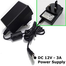 12V 3A DC power supply adaptor all purpose LED Light, MODEM, COMPUTER