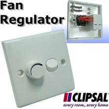 Schneider CLIPSAL Smooth Variable Speed Fan Regulator Switch control