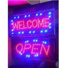 LED Shop Signboard Bright Flashing Business Neon Light