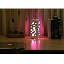 PVC WOOD PLASTIC LAMP RECTANGLE NIGHT LAMP WITH RGB REMOTE CONTROL CO