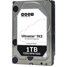 HITACHI ULTRASTAR ENTERPRISE SATA 1TB 128MB 7200RPM INT HDD (HUS722T1TALA604)