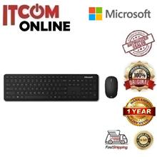 MICROSOFT WIRELESS BLUETOOTH DESKTOP COMBO (QHG-00017) BLK