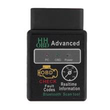 Mini ELM327 Bluetooth HH OBD Advanced OBDII OBD2 ELM 327 Car Diag