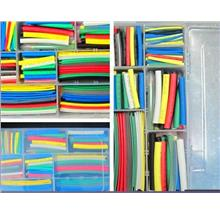 385pcs Polyolefin Halogen Heat Shrink Tube Sleeving wire cover