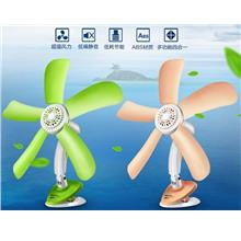 Small office student dormitory bedroom bedside table mini clip fan