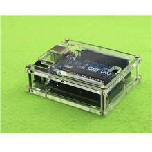 Arduino Uno R3 Acrylic Transparent Cover Casing Box Enclosure