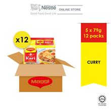 New-MAGGI 2-MINN Curry 5x79g x12 Packet (Carton))