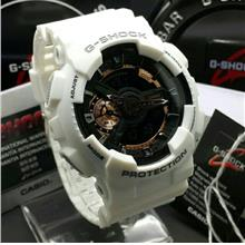 G shock ga-110 1:1 Original white rose gold 42mm analog digital watch