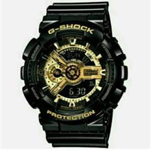 GSHOCK GA-110 1:1 COPY ORIGINAL FULLSET ( G SHOCK OEM DUAL TIME ANALOGUE CASIO