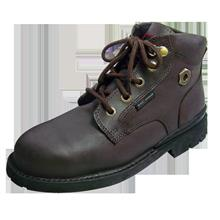 Safety Shoes Black Hammer Men Medium Cut Lace Up Brown BH4660