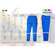 PPE Working Pants 100% PreShrunk Cotton 190Gsm NFR S-6XL LP03XX