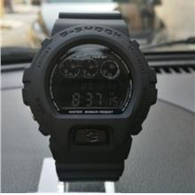 G-SHOCK DW-6900 Black All Full Watch G Shock Jam Warranty Digital Cassio Oem