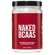 Naked BCAAs Amino Acids Powder - 100 Servings - Vegan Unflavored Branched Chai
