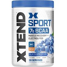 XTEND Sport BCAA Powder Blue Raspberry Ice - Electrolyte Powder for Recovery