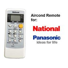National Panasonic AirCond Remote Control A75C2287 A75C2450 A75C2308 A75C2458