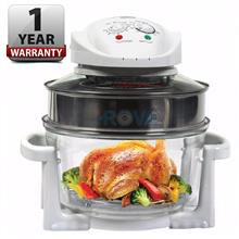 12L Halogen Convection Oven W/ Stainless Steel Extension Ring