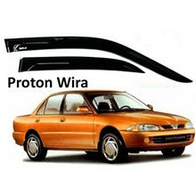 8CM Air Press Window Door Visor Wind Deflector For Proton Wira (4PCS/SET)