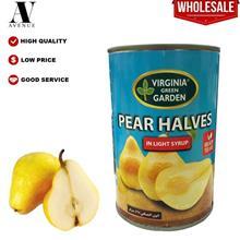 Virginia Green Garden Pear Halves in Light Syrup 425g \u0623\u0646\u0635\u0627